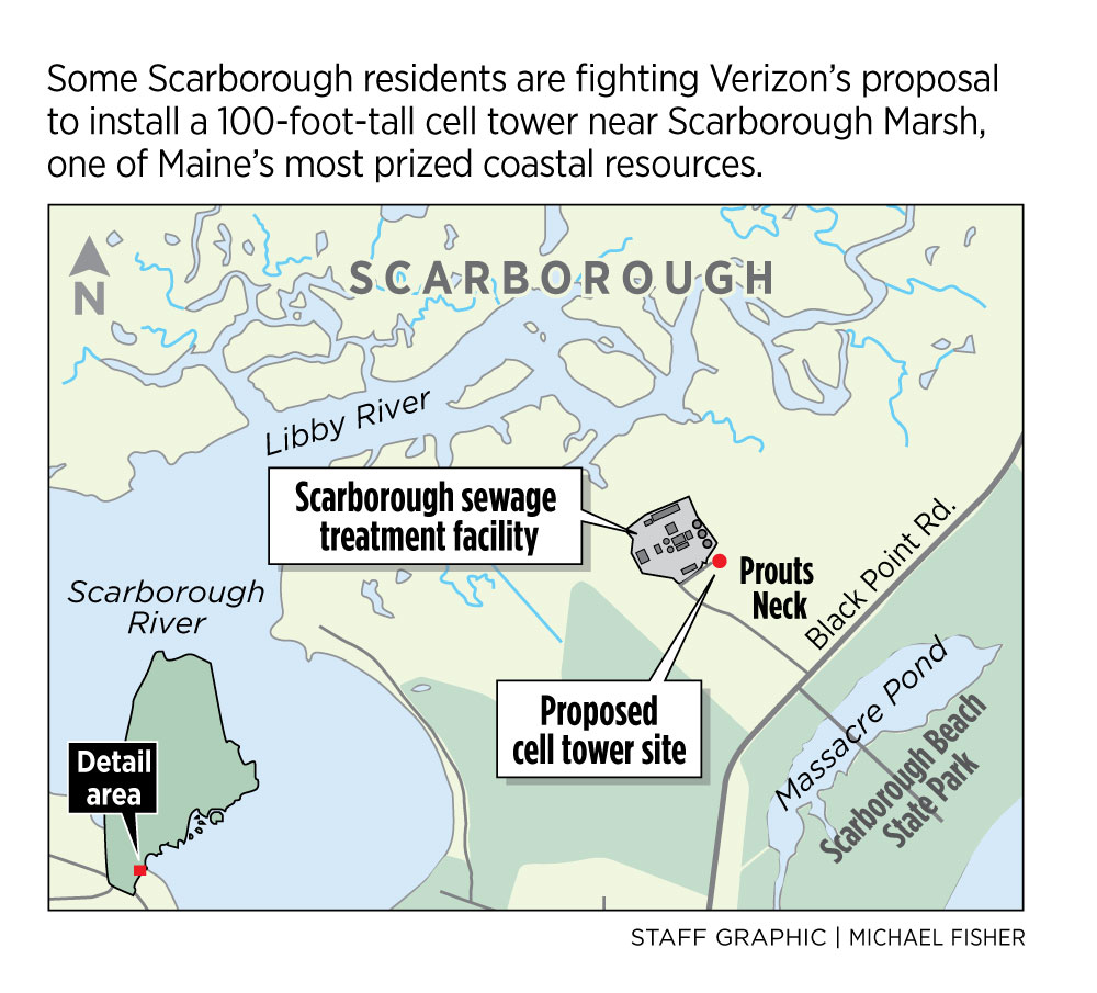 Scarborough Cell Tower Opponents Send A Strong Signal To Verizon