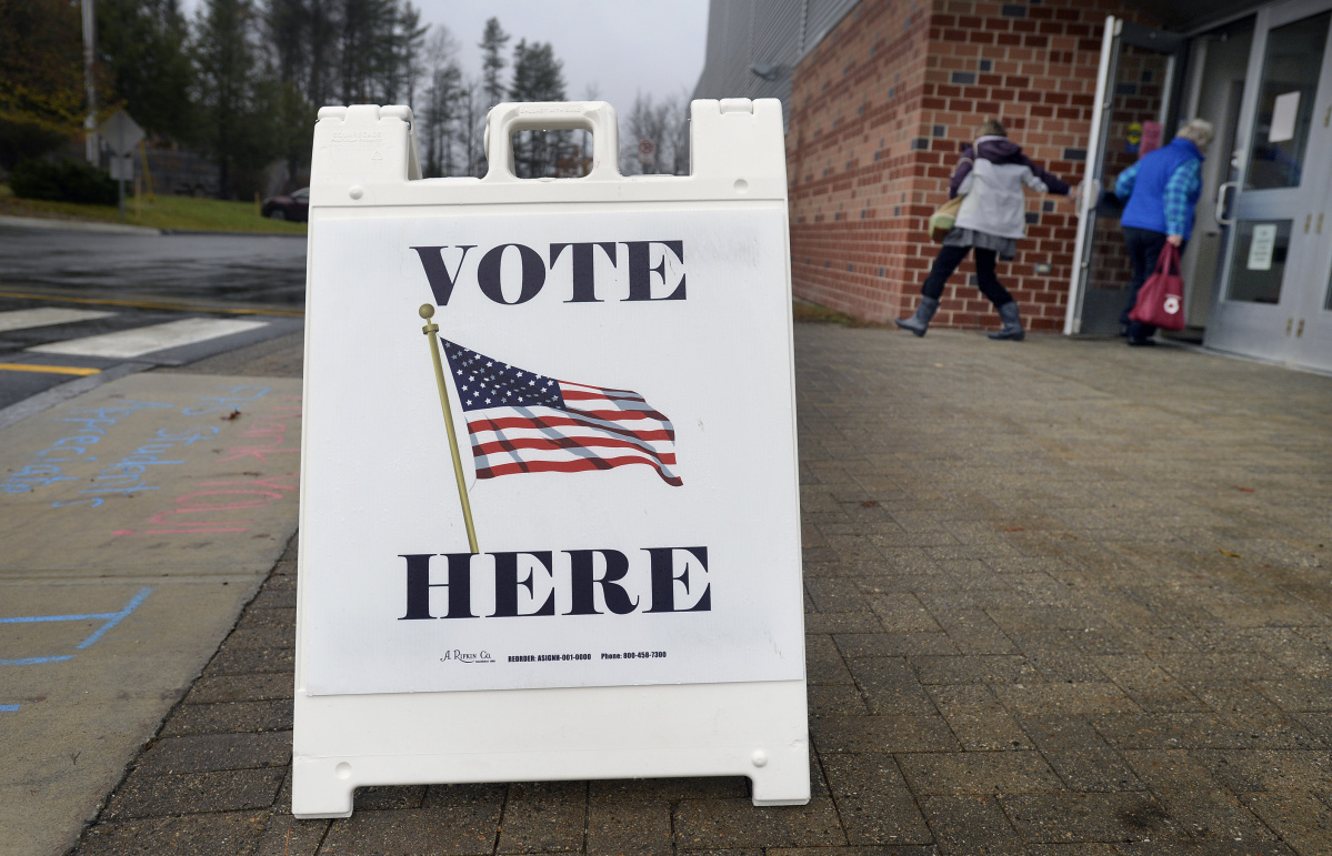 Election Day 2018 photo gallery - Press Herald
