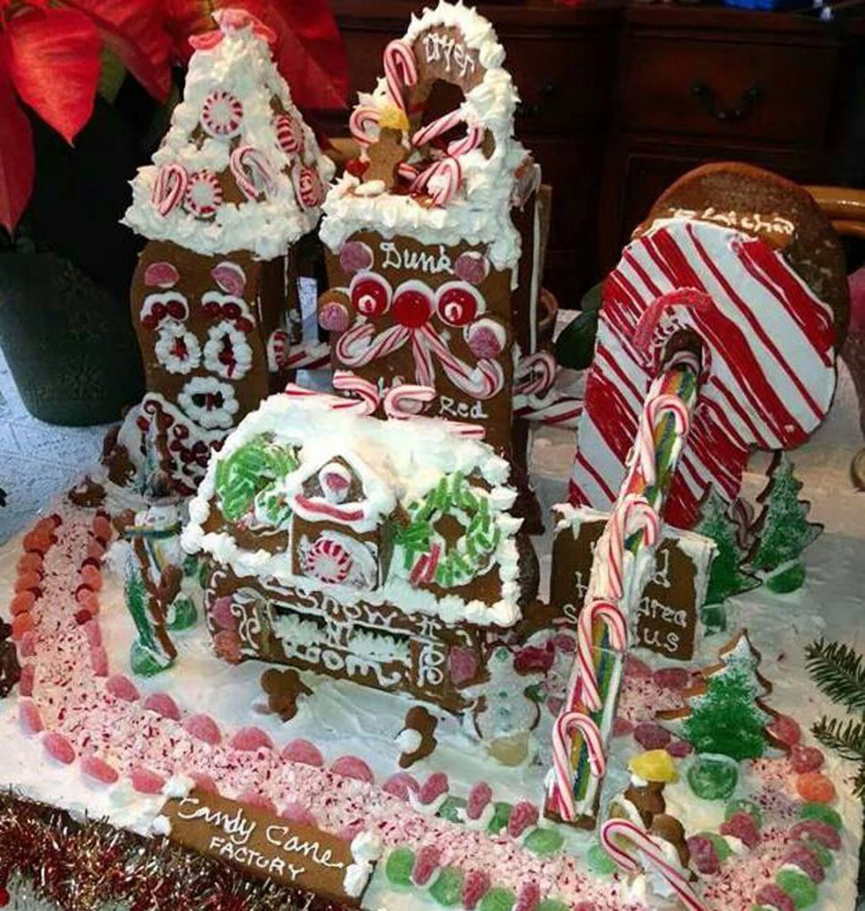 "An ""Art of Constructing Gingerbread Houses"" class is planned for Nov. 14 at Boothbay Harbor's Opera House."