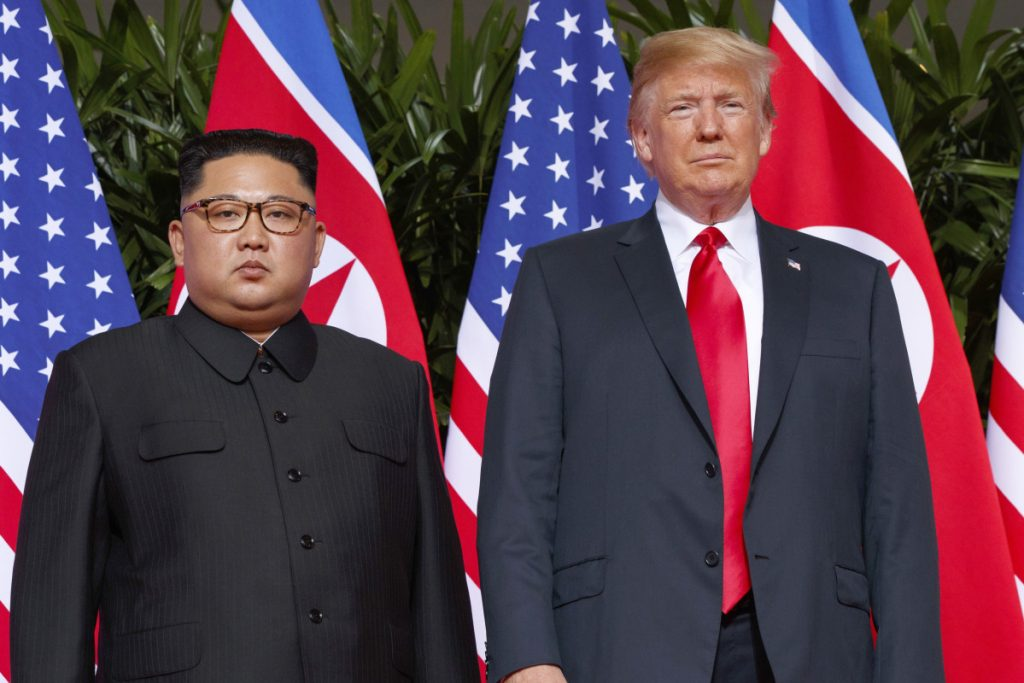 There has been little diplomatic progress since June when  President Trump met with North Korean leader Kim Jong Un in Singapore.