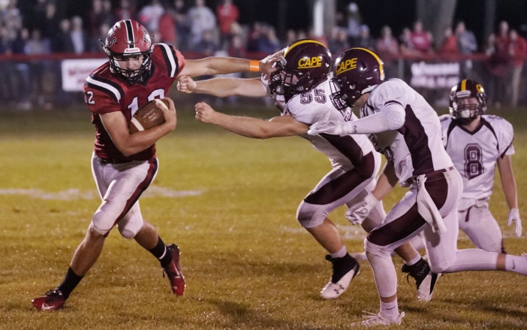 Catch him if you can, and when it comes to comes to Tyler Bridge of Wells, few opponents have. Bridge has 36 touchdowns and 2,011 rushing yards in 10 games this fall heading to the Class D South final against Oak Hill.