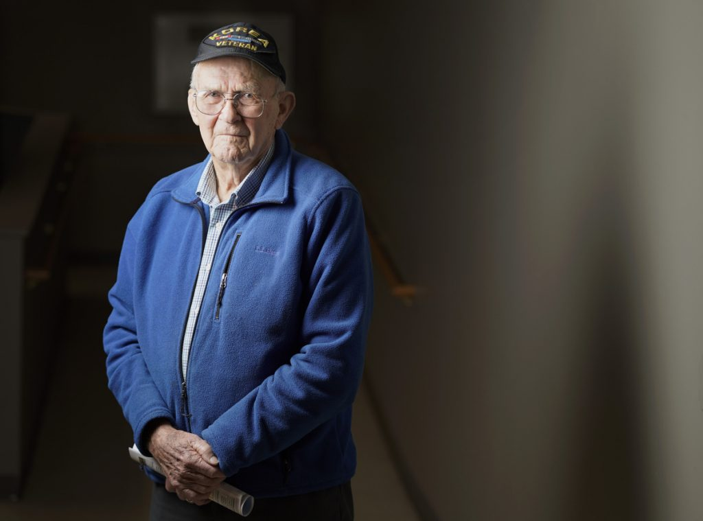 Dick Clark of Saco doesn't talk about it much, but not a day goes by where he isn't thinking about something to do with the Korean War. He arrived in November of 1950 and was told he should be home by Christmas. Four months later he was finally issued a clean uniform.