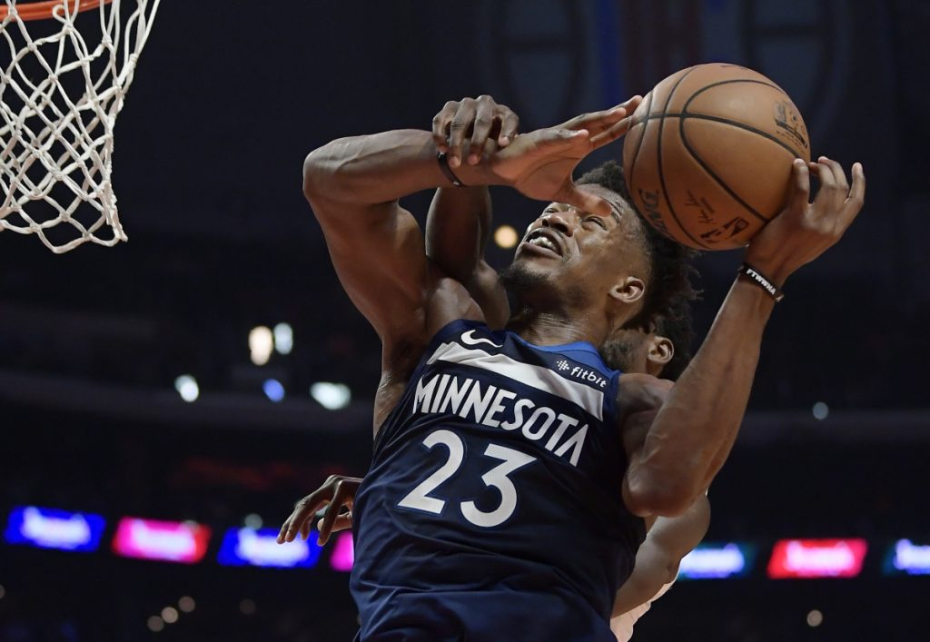 According to reports, Minnesota Timberwolves guard Jimmy Butler was traded to Philadelphia.