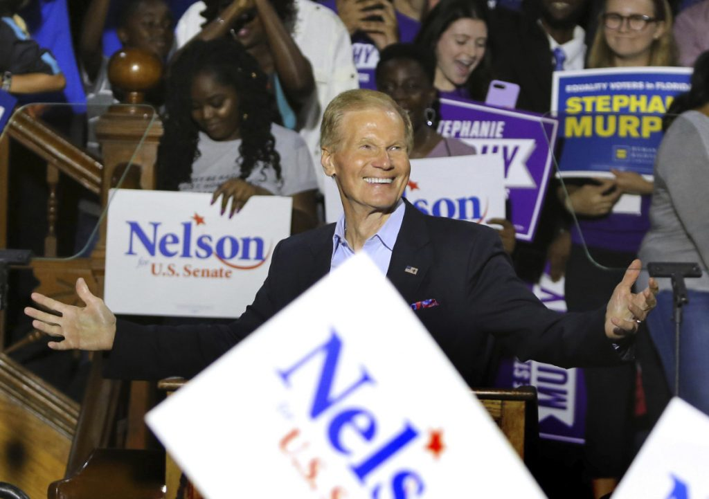 Scott intensifies attacks against Nelson in Florida's Senate race as recount begins