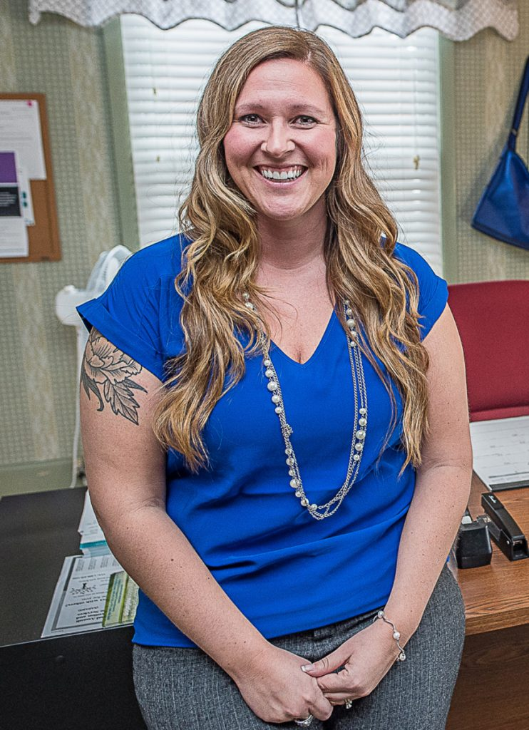 Meagan Davis will succeed Marty McIntyre as executive director of Sexual Assault Prevention & Response Services.