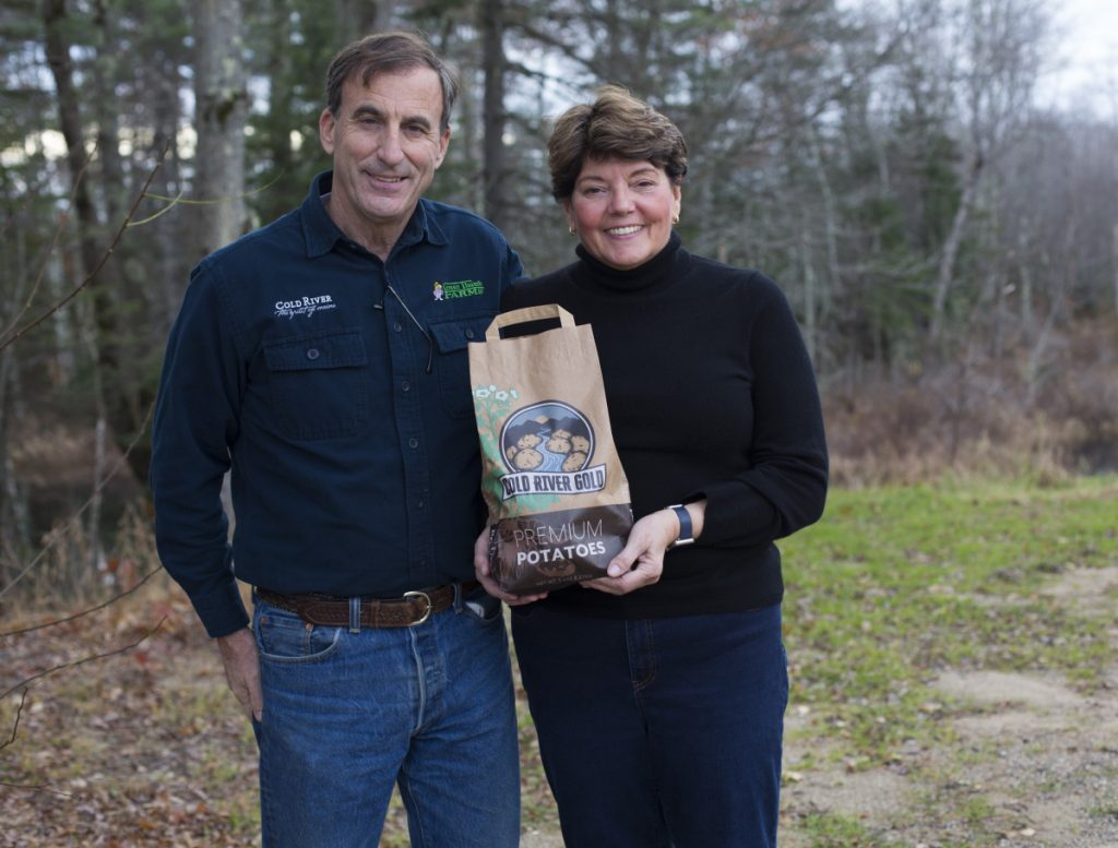 Don and Brenda Thibodeau of Green Thumb Farms in Fryeburg.
