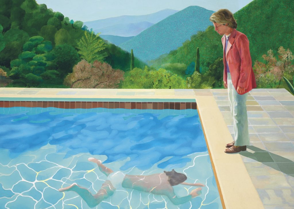 Hockney sells for $90m, sets living artist record