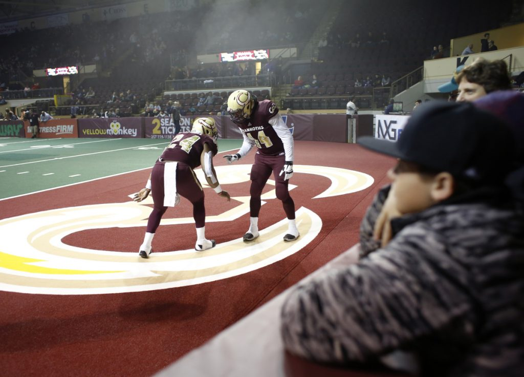The Maine Mammoths opened the season at home with a crowd of 3,713 watching at Cross Insurance Arena. Attendance at the final home game was 1,472.