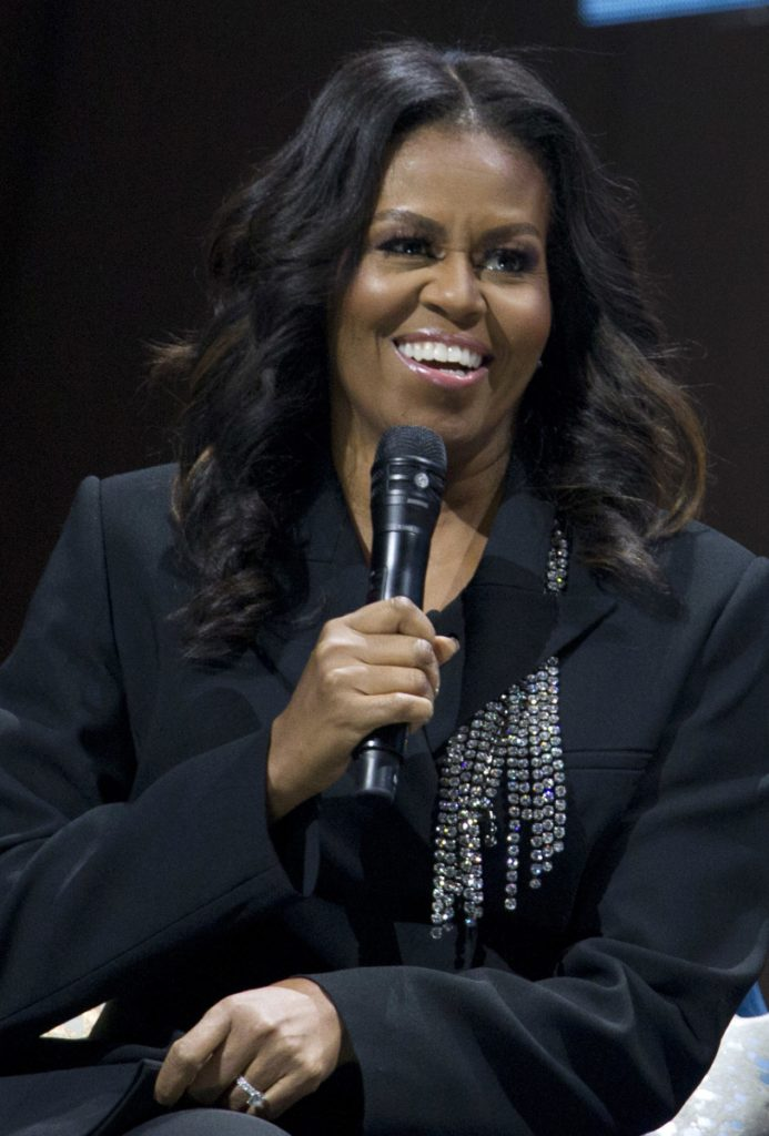 A memoir by Michelle Obama is the No. 1 adult nonfiction title in several countries.