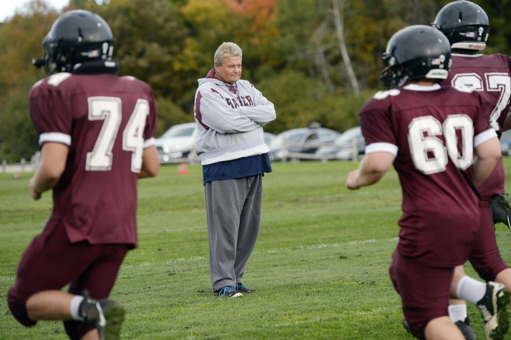 David Higgins, the league coach of the year, leaves a Greely football program facing questions about its future.