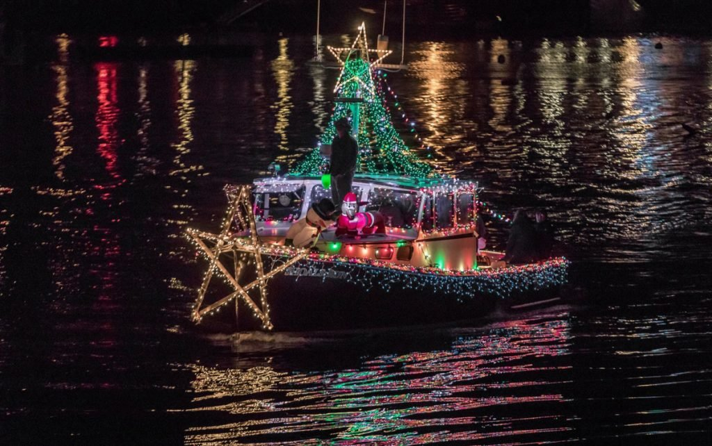 The lighted boat parade is a highlight of the Boothbay region's holiday Harbor Lights Festival, an event that should not be missed, a reader says.