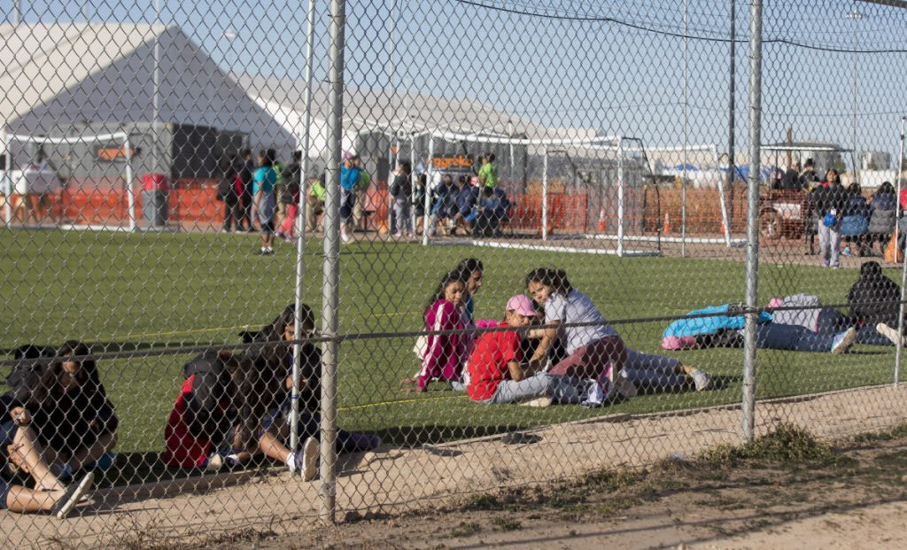 The Tornillo, Texas, detention camp was only supposed to be temporary and hold up to 360 migrant children. Now it houses 2,324 largely Central American boys and girls between the ages of 13 and 17.