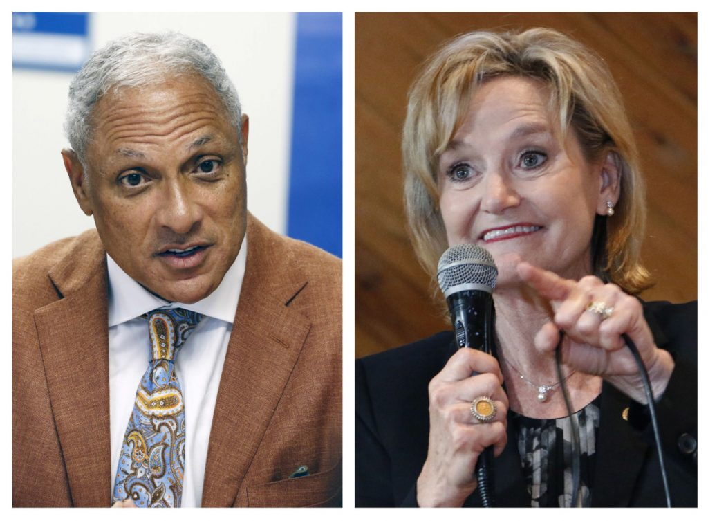 "Mike Espy, a former congressman and U.S. agriculture secretary, challenged Republican Sen. Cindy Hyde-Smith in Mississippi's runoff election Tuesday. Hyde-Smith's ""public hanging"" comments angered many people but didn't keep her from holding on to her seat."
