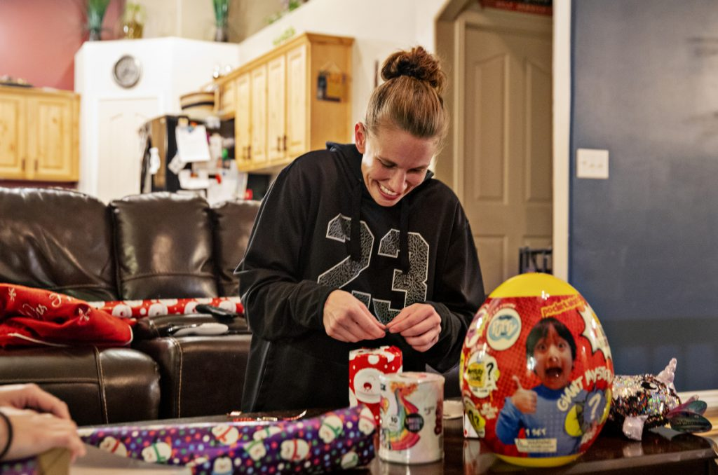 A letter writer says her efforts to teach her kids the meaning of Christmas are undermined by society's focus on gifts.