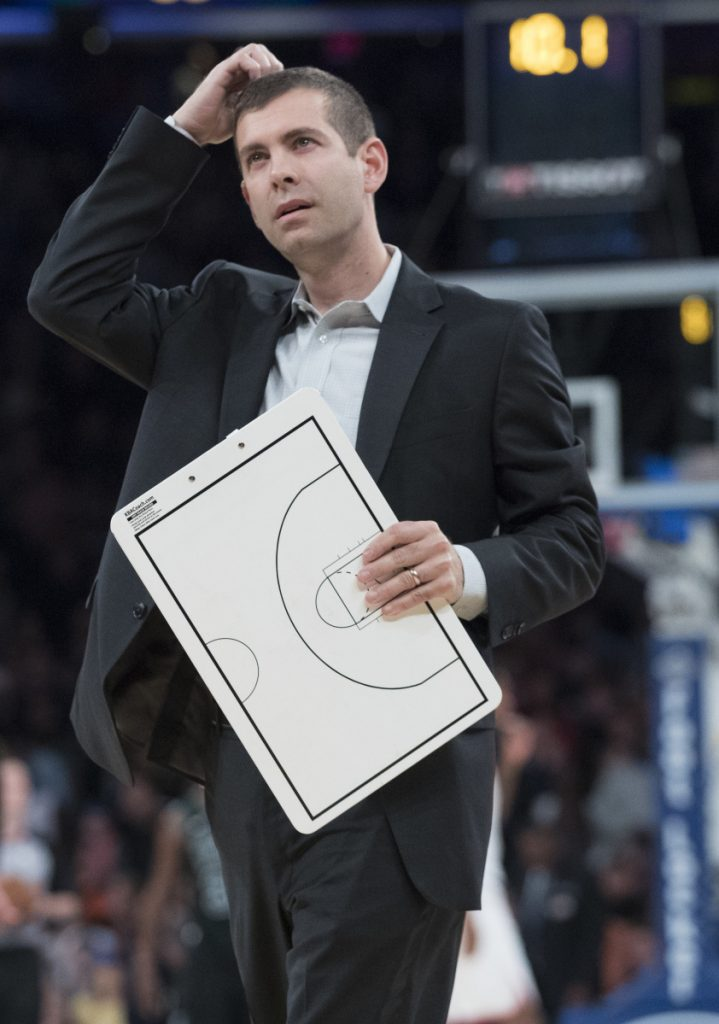 Celtics Coach Brad Stevens saw his Butler team with high expectations struggle early, and now it's happening in Boston.