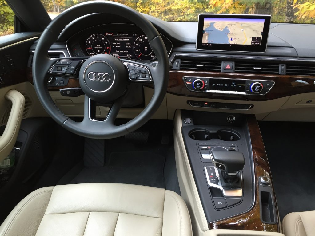 Hits include Audi Connect Prime, with on-board Wi-Fi hotspot and Google Earth connectivity for mapping and traffic updates. (Photo by Tim Plouff)