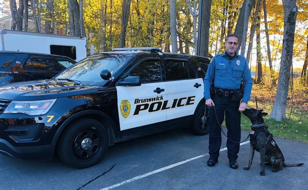 Brunswick police were without a K-9 for 15 years, then came Jack - Times Record 1