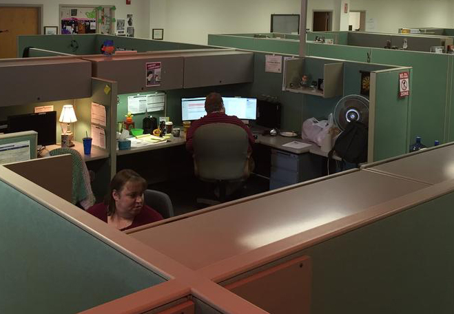 SaviLinx call center in Brunswick in 2016