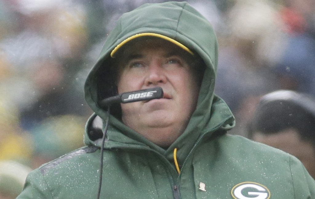 Green Bay Packers Coach Mike McCarthy Fired