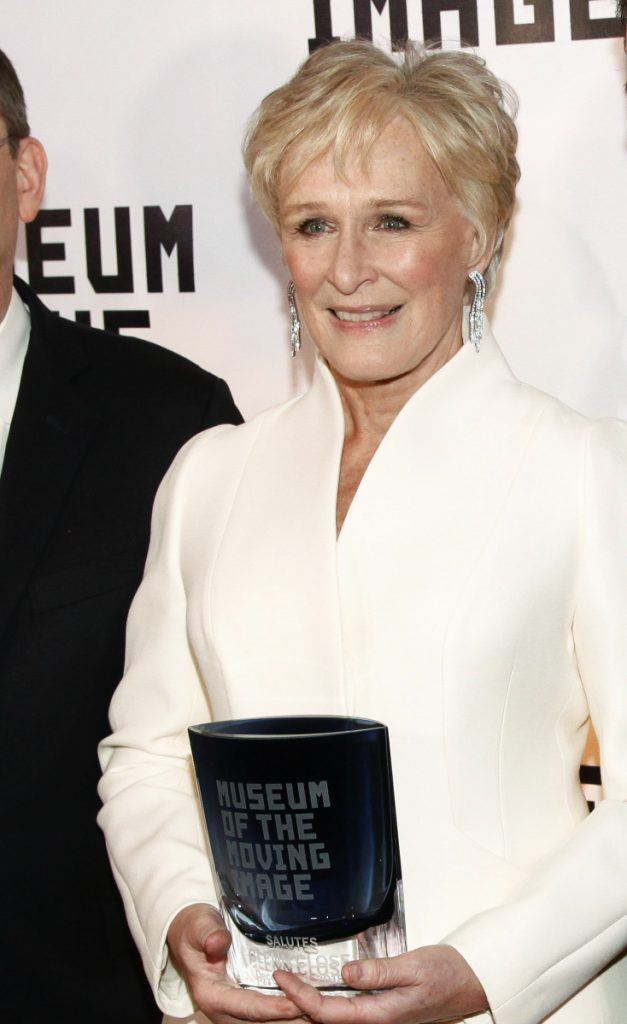 The Museum of the Moving Image has honored Glenn Close.