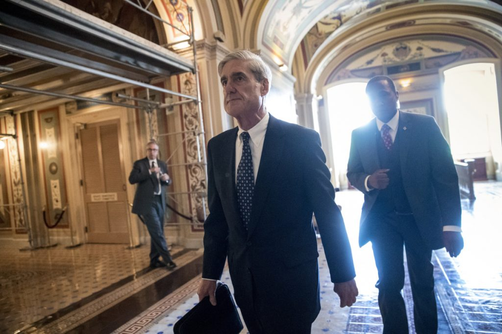 The investigation by special counsel Robert Mueller into Russian interference is intensifying. And court filings Friday in a separate federal case implicated President Trump in a felony.