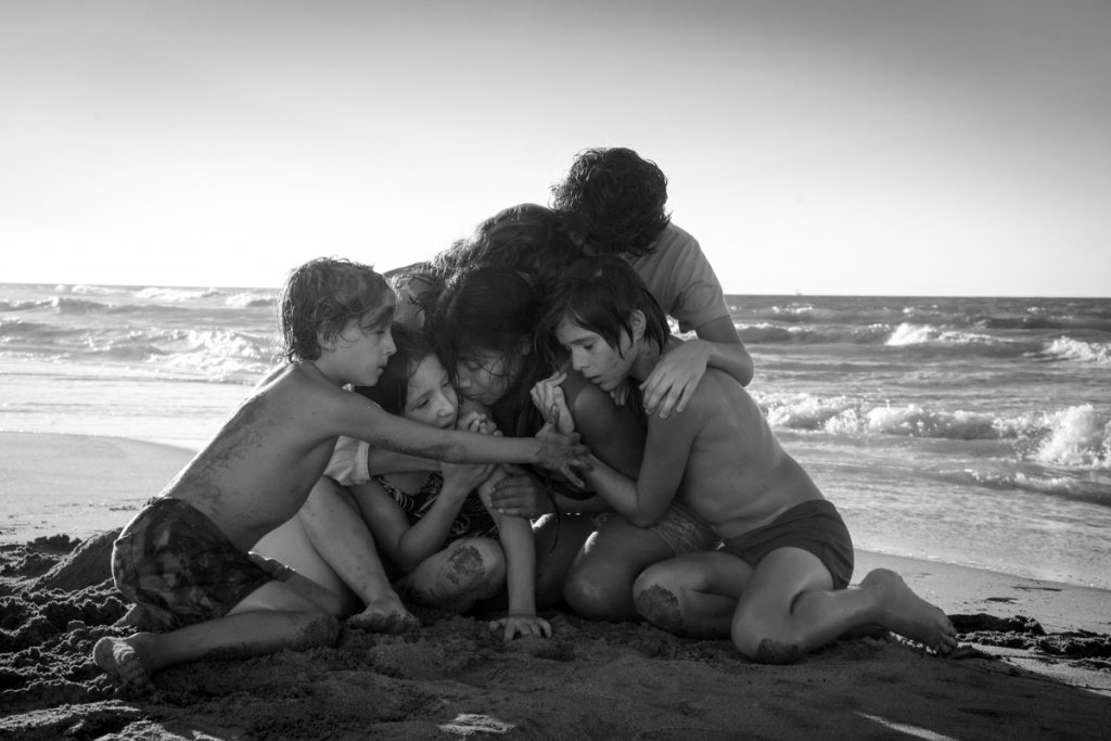 """Roma,"" directed by Alfonso Cuaron, has won three top honors."