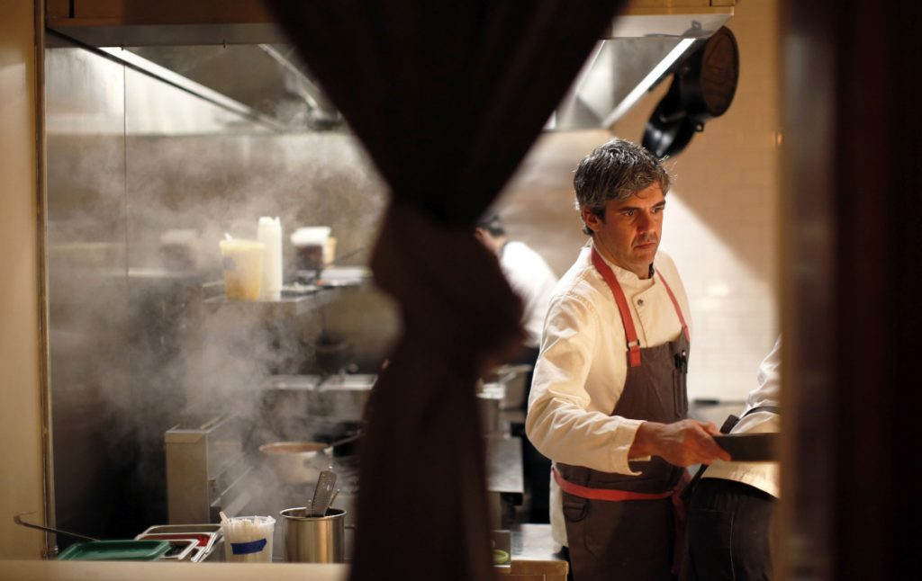 Nick Verdisco, former executive chef at the recently closed Bolster, Snow & Co. in Portland, is moving to the Falmouth Country Club for now.