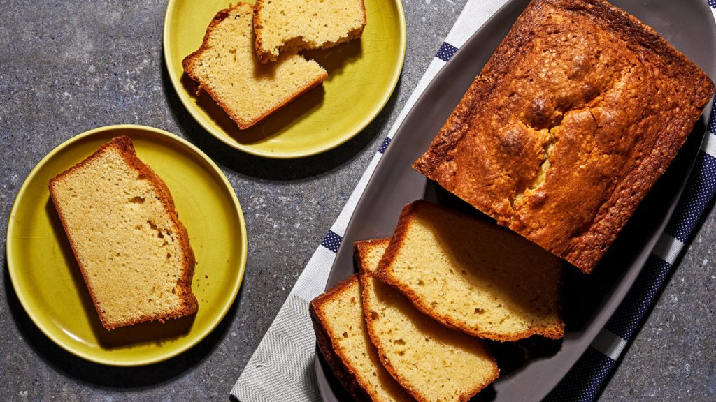 This loaf will come out tender yet firm, moist and bright yellow on the inside, with an addictive sugar crust.