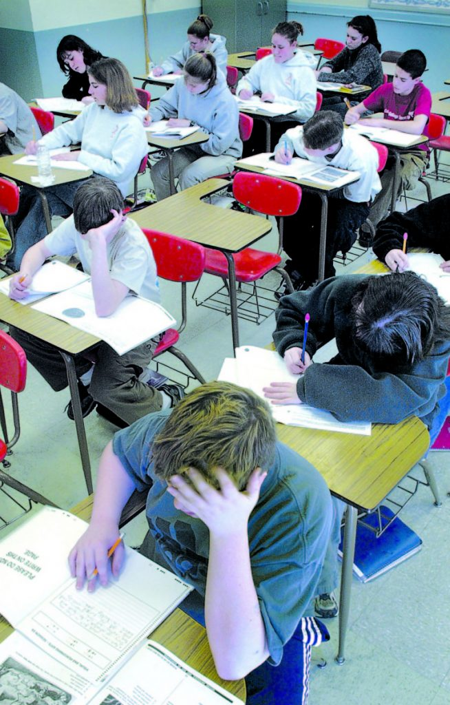 A reader says there's nothing wrong with the intelligence of Maine children – the problem is poorly designed state tests.