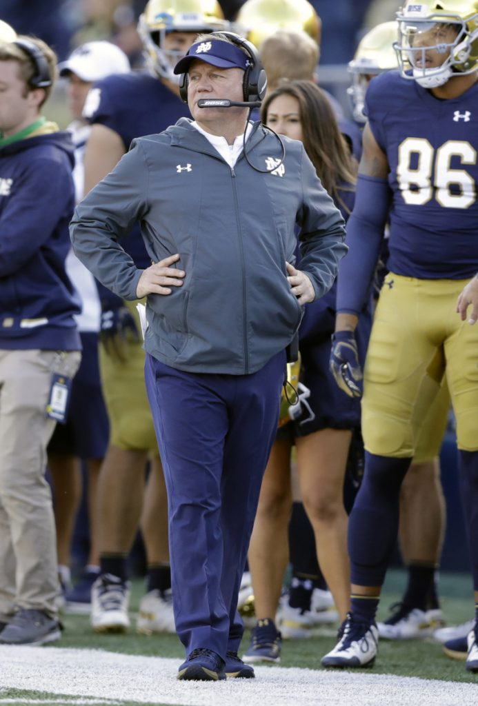Notre Dame and Coach Brian Kelly will have their hands full with a Clemson defensive line that is considered the best unit in the country.