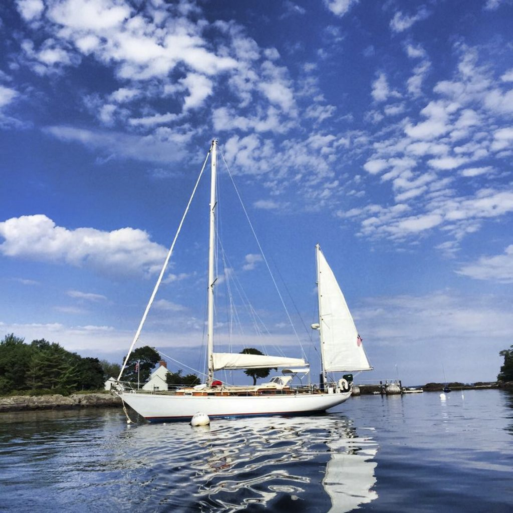 The 43-foot, two-masted sailboat Cimarron has been Capt. Rick Smith's only home for the last decade. It is now impounded pending Smith's criminal case.
