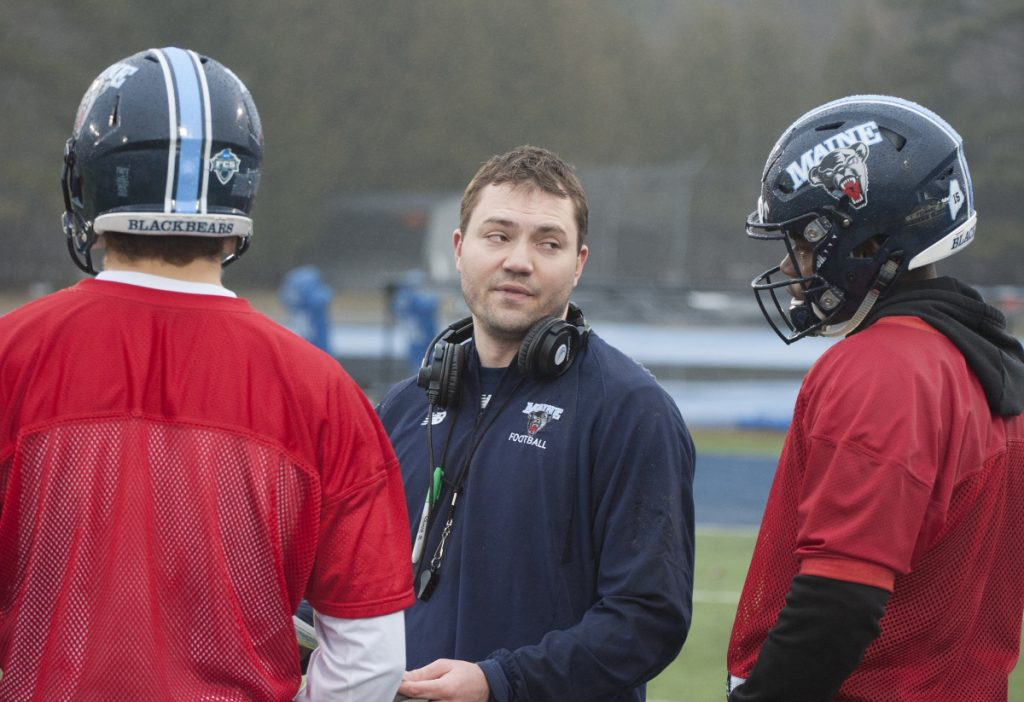 Nick Charlton, who turned 30 on Thursday, will be the youngest head coach in Division I – a spot once held by the outgoing Maine coach, Joe Harasymiak.
