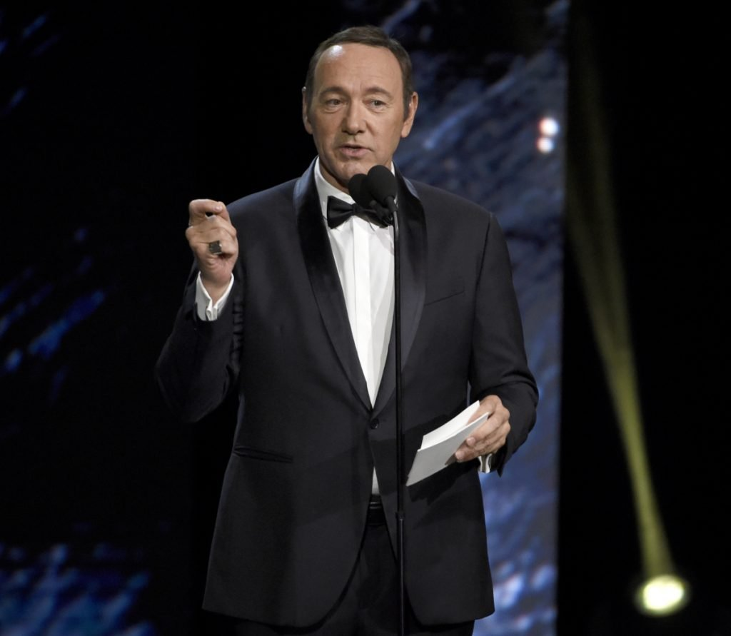 Kevin Spacey charged with sexually assaulting teen boy