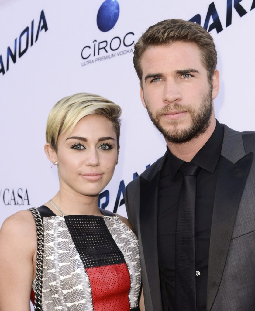 Miley Cyrus and Liam Hemsworth reportedly got married. Cyrus posted three photos of them on her Instagram and Twitter accounts. Dan Steinberg/Invision/AP