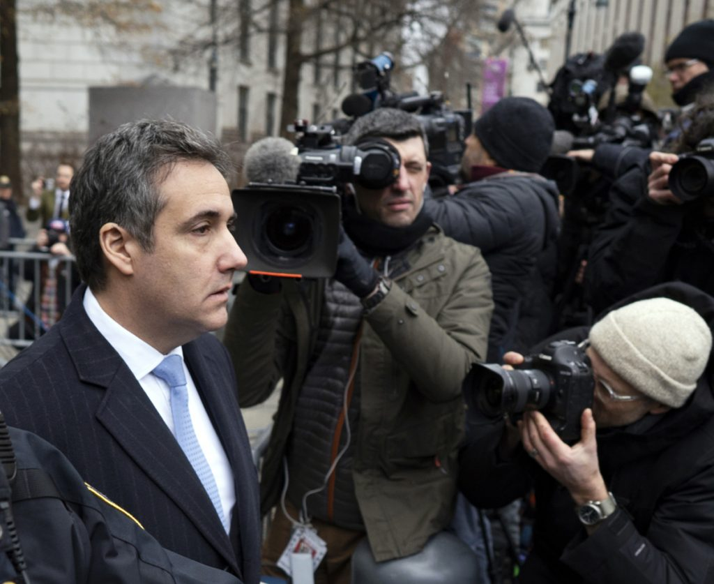 Michael Cohen's Phone Puts Him In Prague With Russians