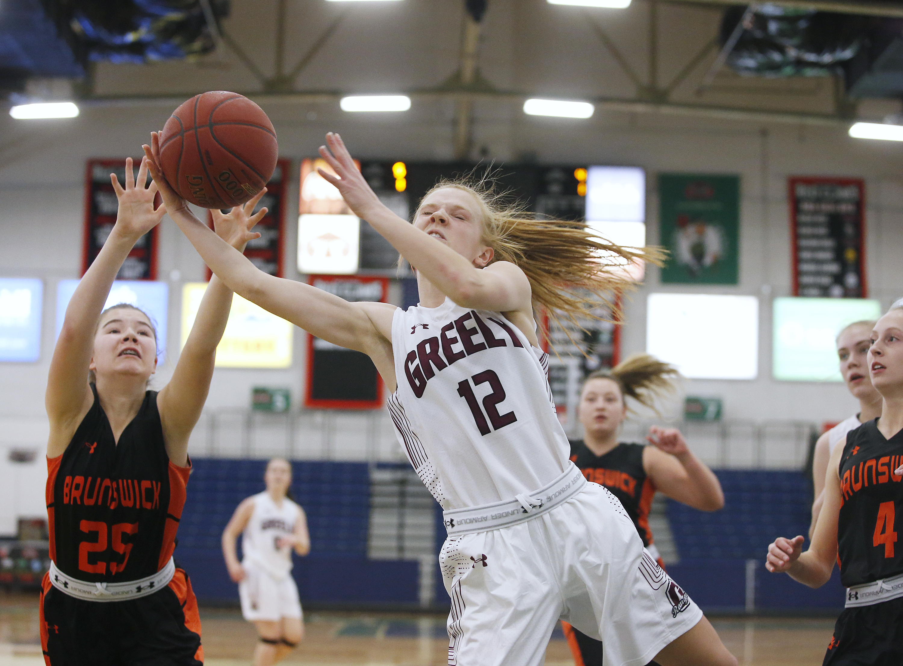Portland Exposition Building Christmas Basketball Schedule 2020 Greely girls ride fast start to win over Brunswick   Portland