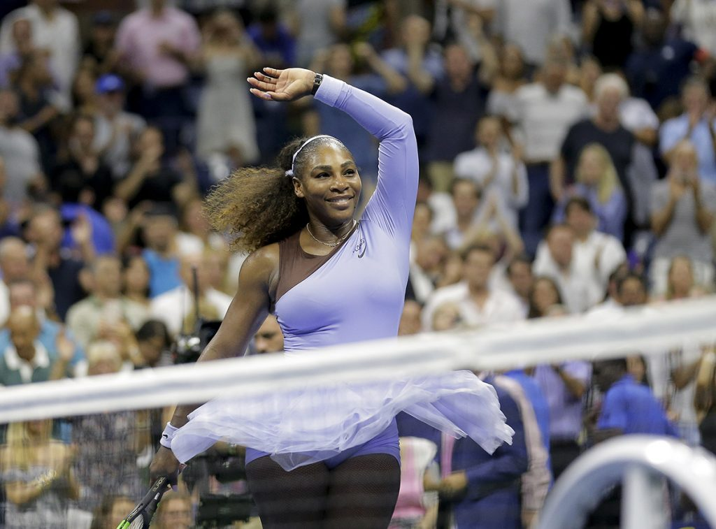 Power of perseverance: Serena voted Female Athlete of the Year