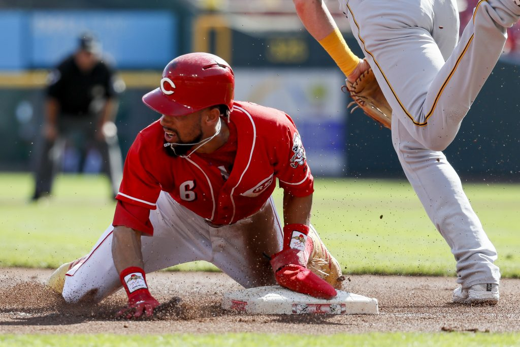 Billy Hamilton agreed to a $5.25 million contract with the Kansas City Royals.