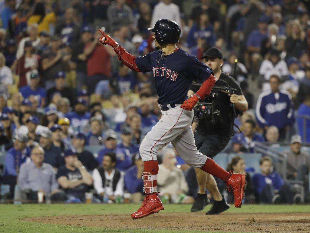 Mookie Betts is as big of a star as their is in Major League Baseball and when his contract is up at the end of next season, he will surely demand a huge contract.