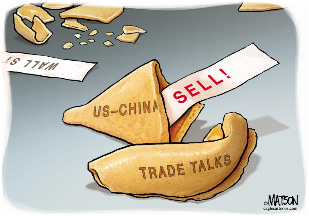 Cartoon: Wall Street Fortune Cookie on US China Trade Talks | The