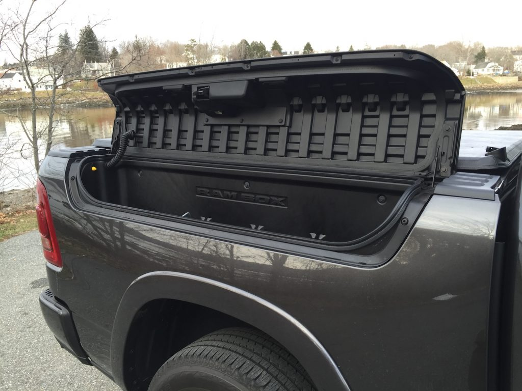 In 2018, Ram sales have been only 9 percent behind the Silverado. The lockable cargo boxes are a nice feature. (Photo by Tim Plouff)