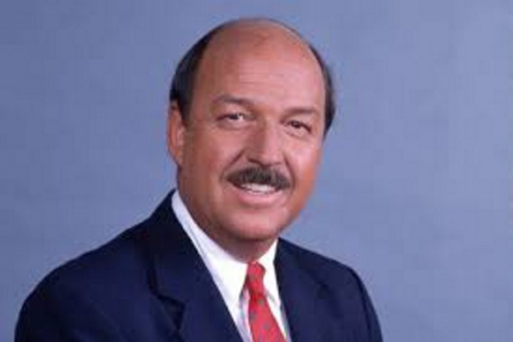 """Professional wrestling personality """"Mean"""" Gene Okerlund died last week at the age of 76."""
