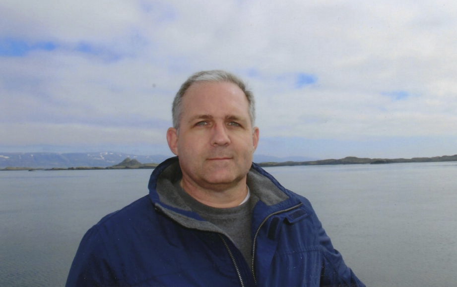 An undated photo of Paul Whelan in Iceland.
