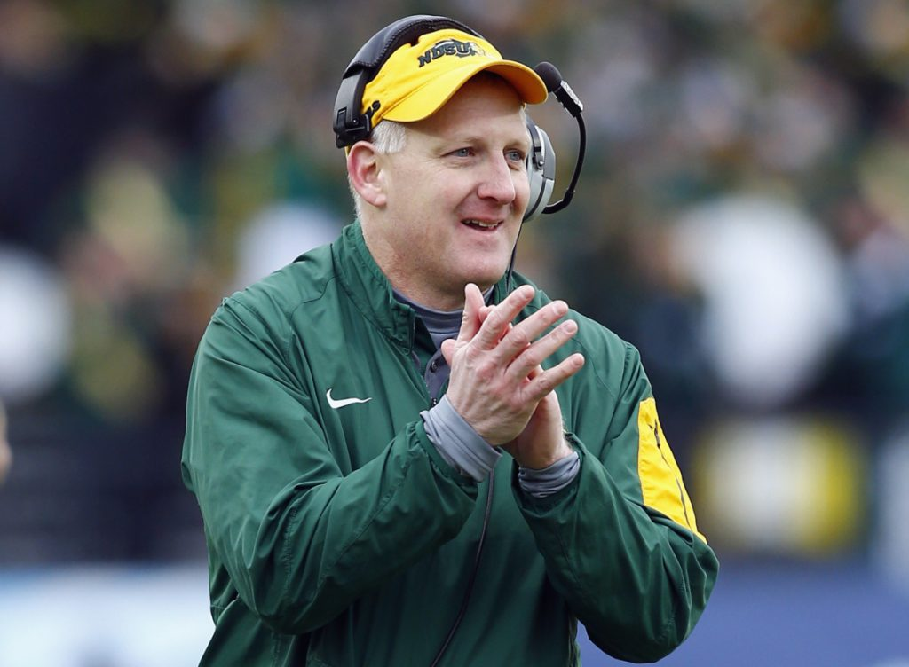 Chris Klieman will coach one more time for North Dakota State before moving on to Kansas State.