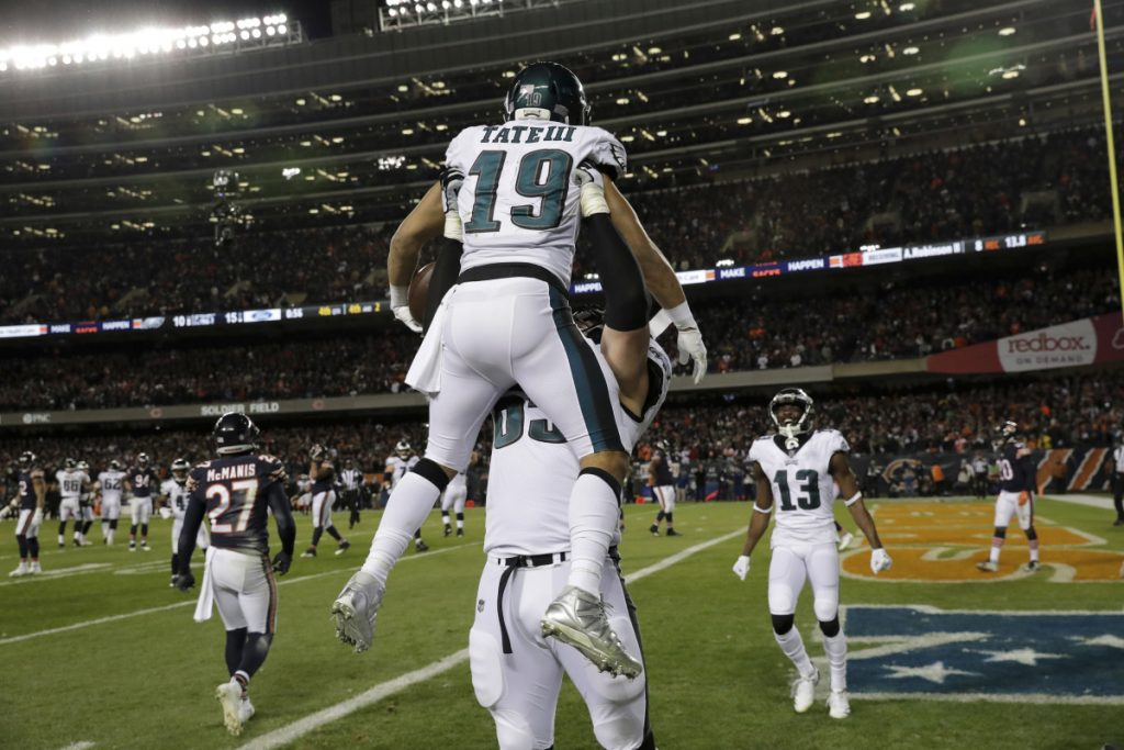 Eagles Score Late To Beat Bears Portland Press Herald