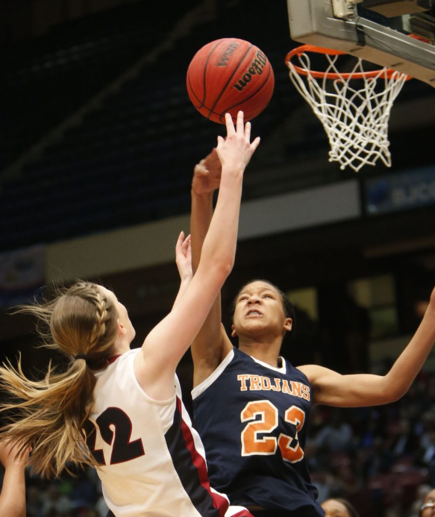 Maori Davenport, a high school star in Alabama, is ineligible to play for her high school team because the state athletic association ruled she lost her amateur status when she received a stipend of $857.20 from USA Basketball.