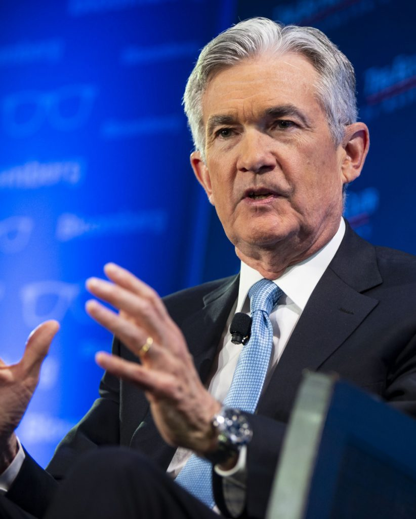 """The U.S. economy is solid and there's good momentum going into this year,"" said Federal Reserve Chair Jerome Powell."