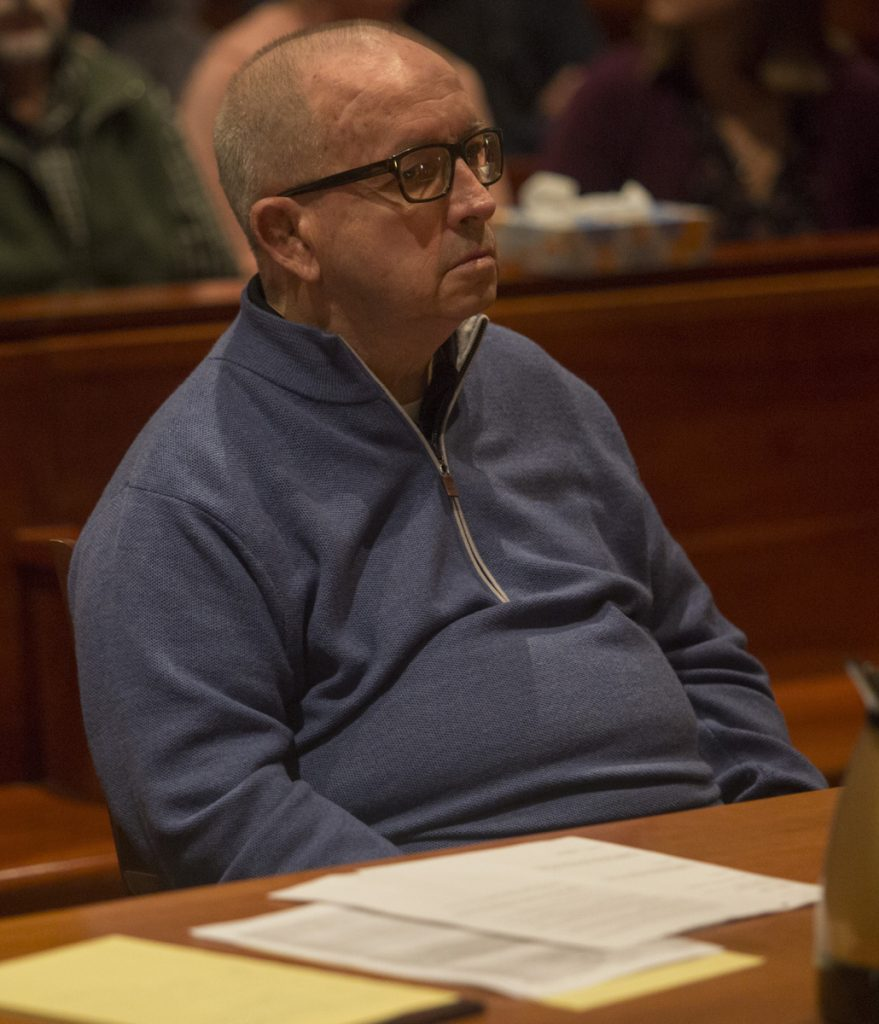 James Talbot, 80, a former Cheverus High teacher and Jesuit priest, pleaded guilty last fall to sexually assaulting a boy in Freeport in the 1990s.