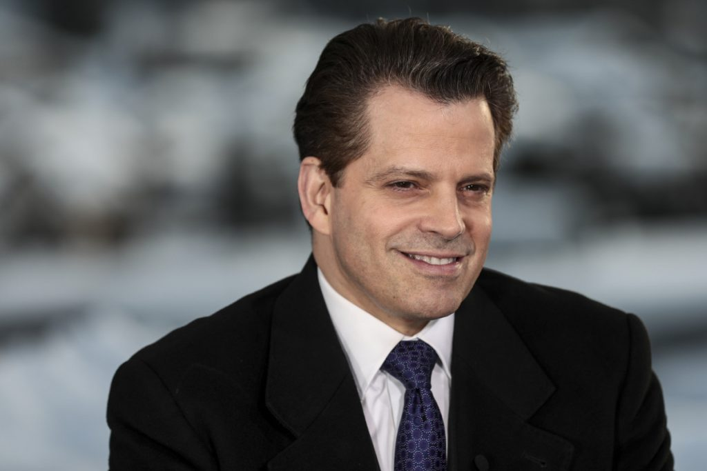 """Anthony Scaramucci, former director of communications for the White House, will join the cast of """"Celebrity Big Brother."""""""