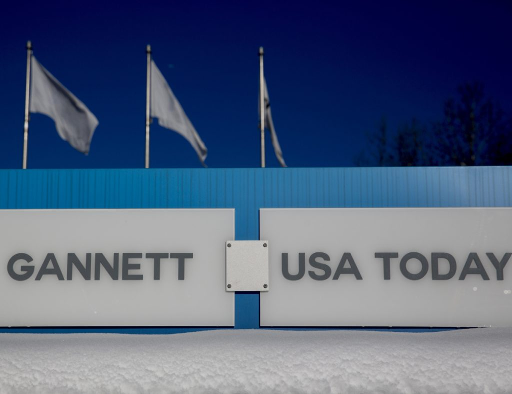 Gannett Co., which owns USA Today and more than 100 other newspapers, has received an unsolicited $1.36 billion offer from Digital First Media, which has bought newspapers across the country and is known for its drastic cost cuts.